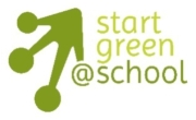 Logo Start Green at School - Schriftzug